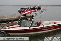 Big Air Bimini American Skier Boat H2O Wakeboard Tower