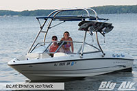 Big Air Bimini Bayliner Boat H2O Wakeboard Tower