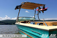 Big Air Bimini Century Boat H2O Wakeboard Tower