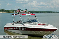 Big Air Bimini Four Winns 210 Vapor Wakeboard Tower
