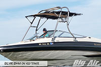 Big Air Bimini Glastron Boat H2O Wakeboard Tower