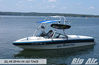 Big Air Bimini Malinu Sunsetter Boat H2O Wakeboard Tower