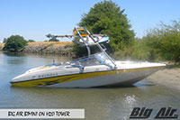 Big Air Bimini Reinell Boat H2O Wakeboard Tower