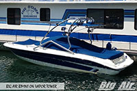 Big Air Bimini Searay 200 Sport Boat Vapor Wakeboard Tower