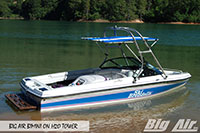 Big Air Bimini Ski Brendella Boat H2O Wakeboard Tower