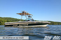 Big Air Bimini Sport Nautique Boat H2O Wakeboard Tower 2