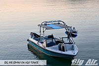 Big Air Bimini Sport Nautique Boat H2O Wakeboard Tower