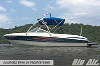 Big Air Collapsible Bimini 2008 Maxum 1800 Sr3 Boat Predator Wakeboard Tower