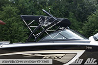 Big Air Collapsible Bimini Skylon Ftp Wakeboard Tower
