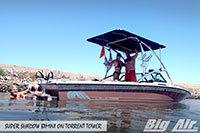 Big Air Super Shadow Bimini 1990 Supra Mariah Boat Torrent Wakeboard Tower
