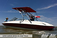 Big Air Super Shadow Bimini 1997 Bayliner 2050 Boat Cuda Wakeboard Tower