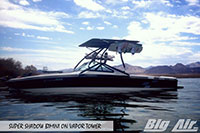 Big Air Super Shadow Bimini 2000 Centurian Elite Boat Vapor Wakeboard Tower