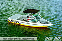 Big Air Super Shadow Bimini Calabria Boat Air Boom Wakeboard Tower