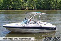 Big Air Super Shadow Bimini Chaparral Boat Ice Wakeboard Tower