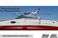 Big Air Super Shadow Bimini Forward Collapsed Cuda Wakeboard Tower