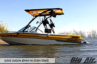 Big Air Super Shadow Bimini Galaxie Boat Storm Wakeboard Tower