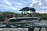 Big Air Super Shadow Bimini Mastercraft Boat Zero Flex Wakeboard Tower