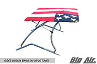 Big Air Super Shadow Bimini Ol Glory Flag Vapor Wakeboard Tower