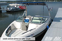 Big Air Super Shadow Bimini Rinker Boat Wave Wakeboard Tower 2