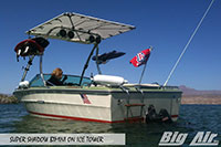 Big Air Super Shadow Bimini Searay Boat Ice Wakeboard Tower