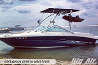 Big Air Super Shadow Bimini Searay Boat Vapor Wakeboard Tower