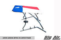 Big Air Super Shadow Bimini Texas Flag Vapor Wakeboard Tower