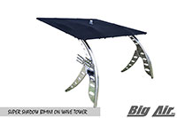 Big Air Super Shadow Bimini Wave Wakeboard Tower