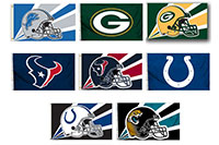 2018 Nfl 2 Sided Flags 3