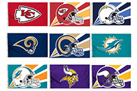 2018 Nfl 2 Sided Flags 4