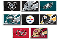 2018 Nfl 2 Sided Flags 6