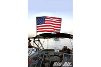 Big Air Flag Holder American Flag Oem Wakeboard Tower