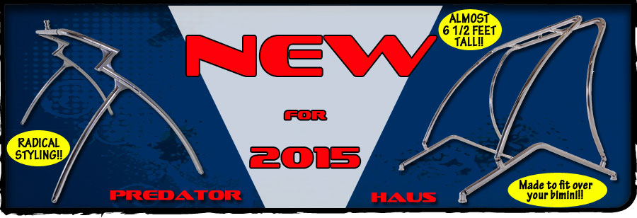 New for 2015 - Predator and Haus Towers