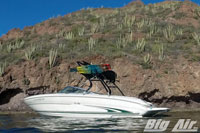 Big Air Cuda Wakeboard Tower 2000 Searay 210