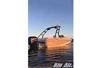 Big Air Cuda Wakeboard Tower 2002 Tahoe 202 Deckboat