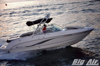 Big Air Cuda Wakeboard Tower Chaparral 256 Ssi