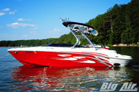 Big Air Cuda Wakeboard Tower Four Winns