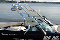 Big Air Cuda Wakeboard Tower Malibu Wakesetter Closeup