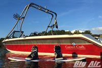 Big Air Fusion Wakeboard Tower 1990 Correct Craft Sport Nautique