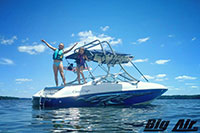 Big Air H2O3 Wakeboard Tower 1995 Chris Craft Concept