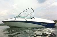 1993 Genesis Boat With Big Air Ice Wakeboard Tower