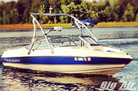 1995 Stingray Boat With Big Air Ice Wakeboard Tower