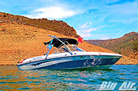 2007 Bluwater Shadow With Big Air Storm Wakeboard Tower
