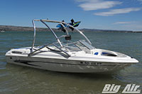 2003 Glastron Sx195 Boat With Big Air Vapor Wakeboard Tower
