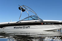 Mastercraft Boat With Big Air Vapor Wakeboard Tower