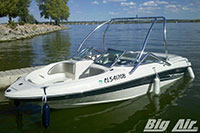 Searay Boat With Big Air Vapor Wakeboard Tower