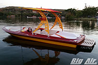Big Air Wave Wakeboard Tower 1984 Miller Jet Boat Custom Powder Coat