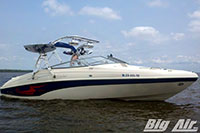 Big Air Wave Wakeboard Tower Rinker Captiva 232