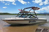 Big Air X Wakeboard Tower 1997 Malibu Response Lx